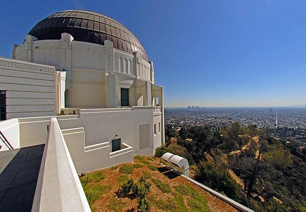 Observatorio Griffith y el paisaje urbano, Los Angeles - 10 lugares en Estados Unidos con vistas increíbles