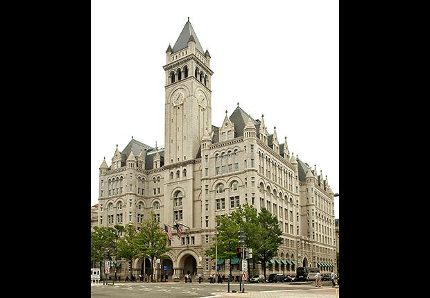Old Post Office Pavilion, Washington DC - 10 lugares en Estados Unidos con vistas increíbles