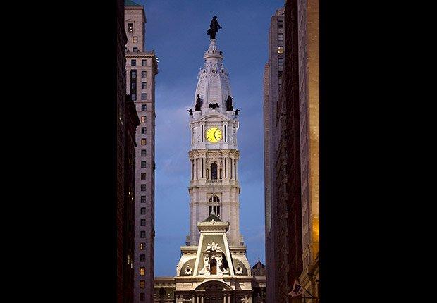 El Ayuntamiento de Filadelfia - 10 lugares en Estados Unidos con vistas increíbles