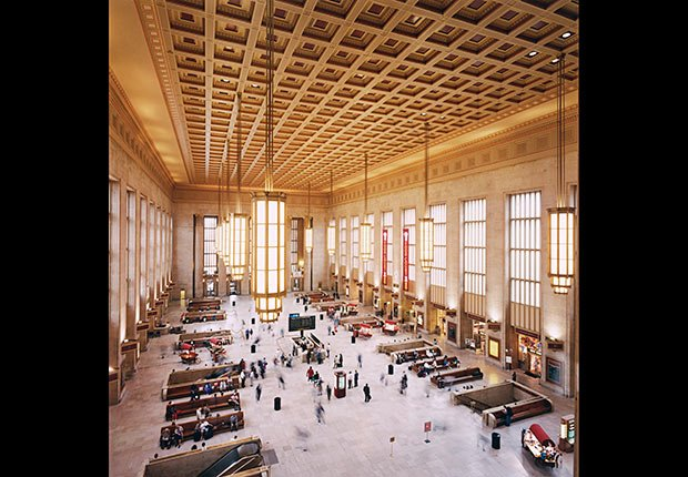 30th Street Station, Filadelfia - Grandes estaciones americanas de tren