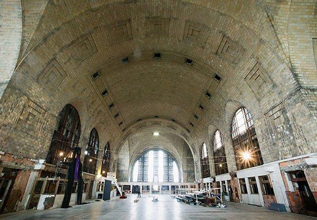 Central Terminal, Buffalo, NY - Grandes estaciones americanas de tren