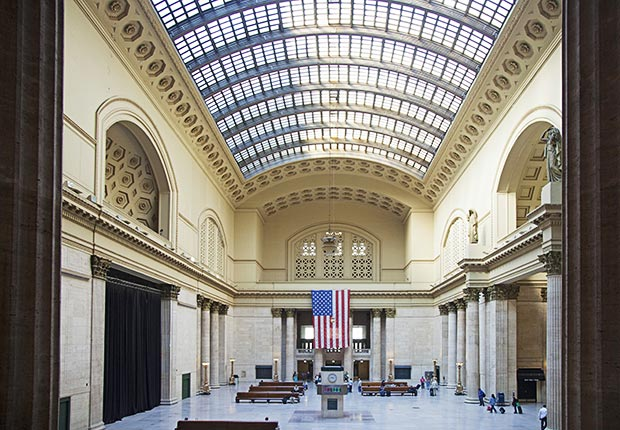 Union Station, Chicago - Grandes estaciones americanas de tren.