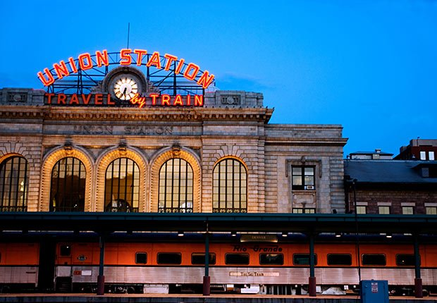 Union Station, Denver, CO - Grandes estaciones americanas de tren