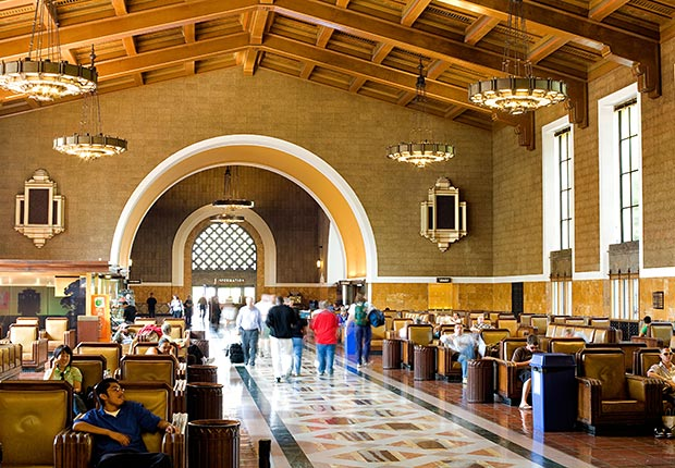 Union Station, Los Angeles - Grandes estaciones americanas de tren