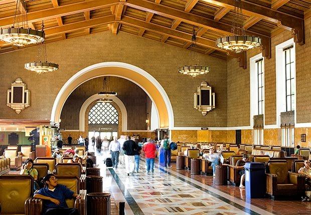 Union Station, Los Angeles - Grandes estaciones americanas de tren