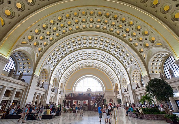 Union Station, Washington, DC. - Grandes estaciones americanas de tren