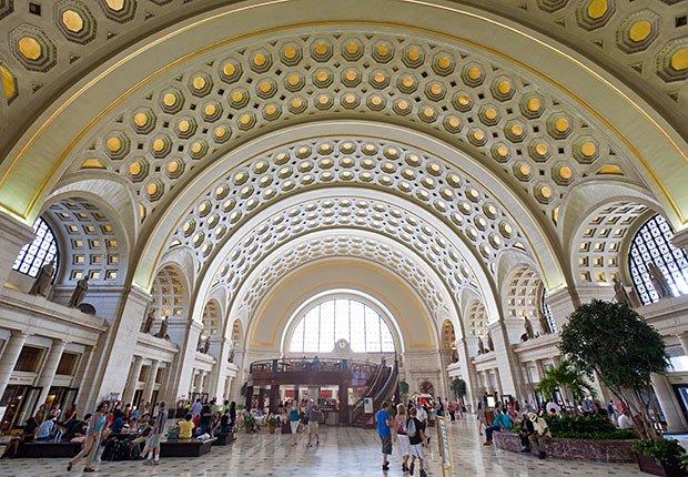 Union Station, Washington, DC. - Grandes estaciones americanas de tren