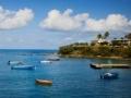 Puerto en la isla de Vieques, Puerto Rico