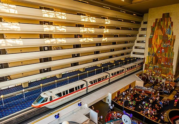 Contemporary Resort en Walt Disney World en Orlando, FL.