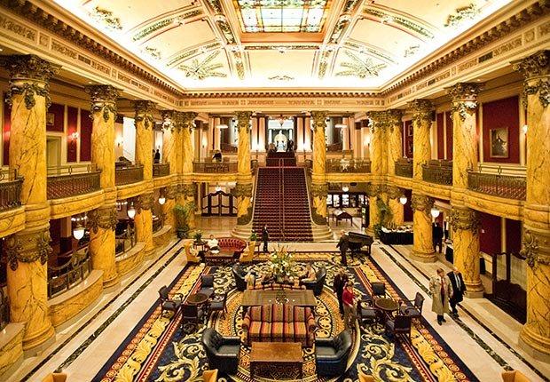 The Jefferson Hotel en Richmond, VA.