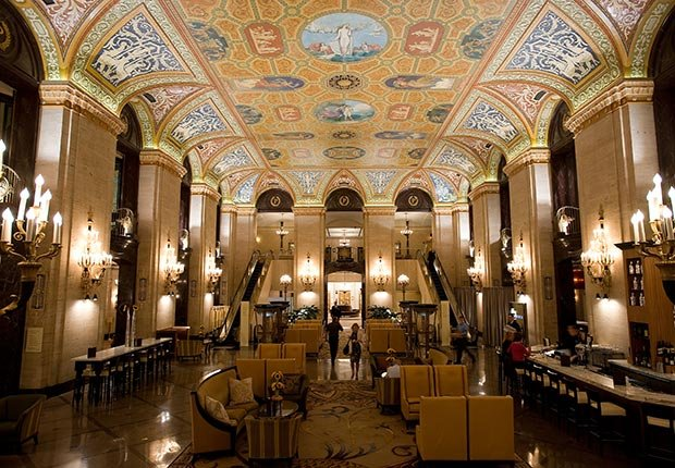 The Palmer House Hilton en Chicago, IL.