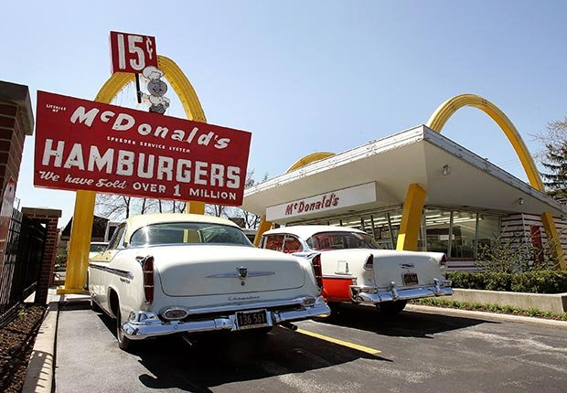Museo de la primera tienda McDonald en Des Plaines, IL. - 7 Rutas clásicas para pasear en America