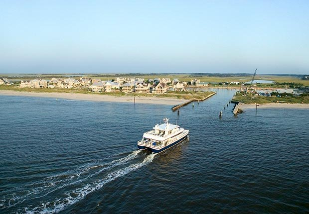 ferry ferries fun island water boat boats schedule prices car sightseeing chappaquiddick angel ohio champlain north carolina bald head ethan allen edgartown martha's vineyard massachusetts orlando disney world virginia bass staten new york (Getty Images)