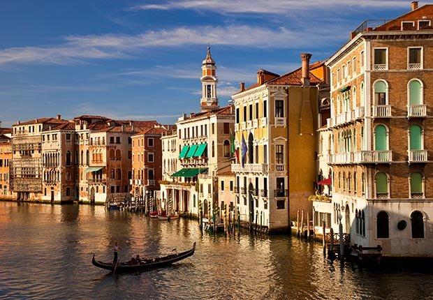 El Gran Canal de Venecia, Italia - Las mejores vacaciones a un buen precio para el 2014