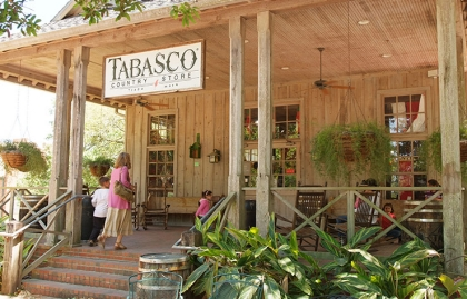 Tabasco Pepper Sauce; Avery Island, La.
