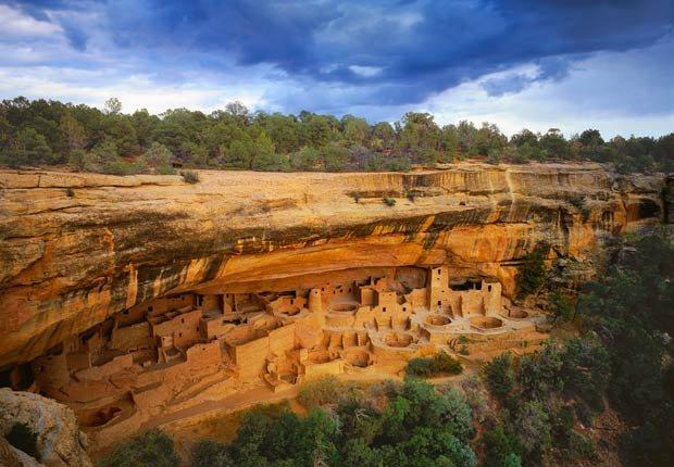 The Cliff Palace - los edificios más extraños de América
