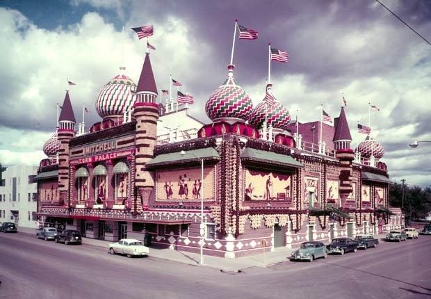 Corn Palace - los edificios más extraños de América