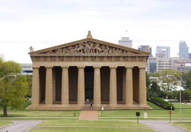 El Partenón de Nashville, Tennessee - los edificios más extraños de América