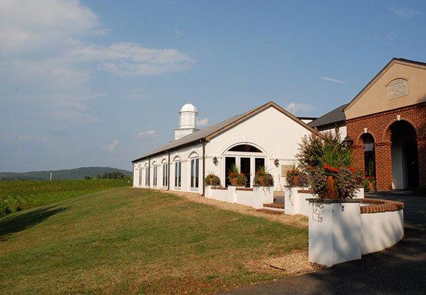 Barboursville Vineyards in Barboursville, Virginia