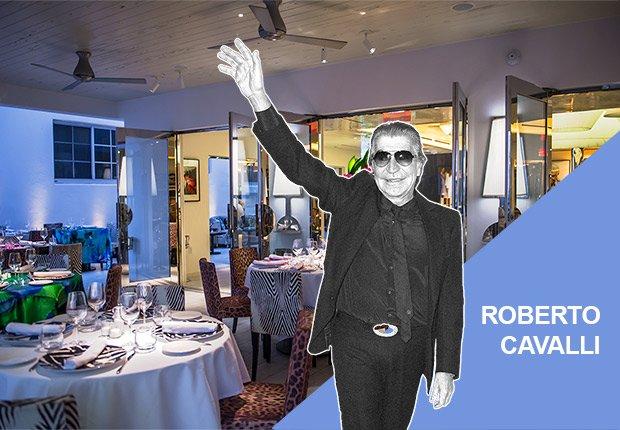 Restaurante Cavalli de Roberto Cavalli