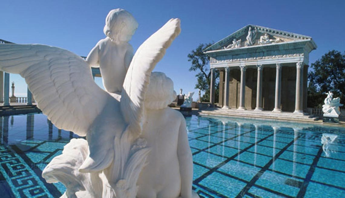 Piscina Neptune at Hearst Castle, 10 grandes piscinas de hoteles