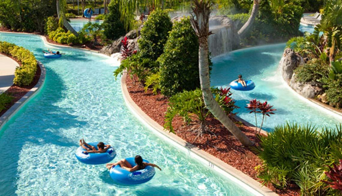 Piscinas y parques acuáticos en Estados Unidos