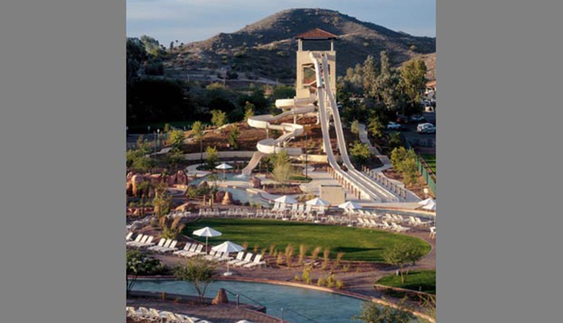 Oasis Water Park,  10 grandes piscinas de hoteles en los Estados Unidos