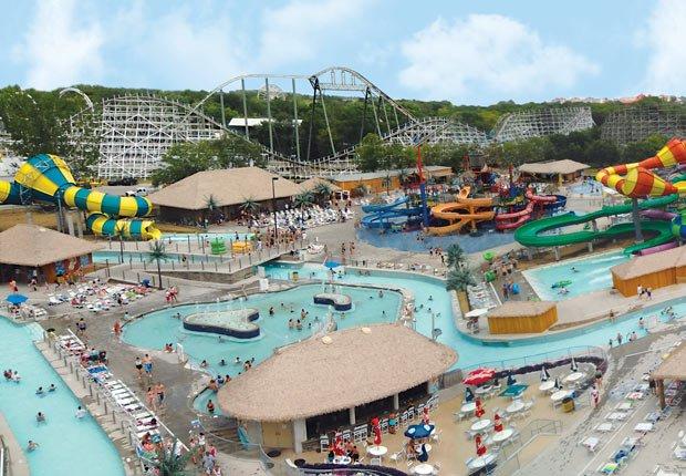 Adventure Bay Water Park, 10 grandes piscinas de hoteles en los Estados Unidos