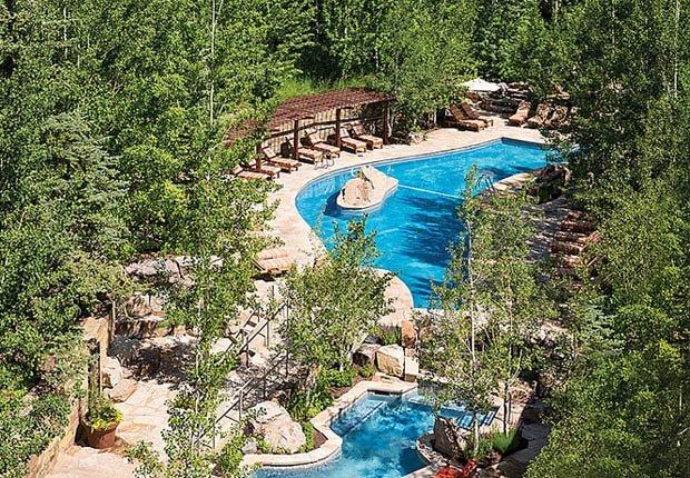 Four Seasons Jackson Hole, 10 grandes piscinas de hoteles en los Estados Unidos
