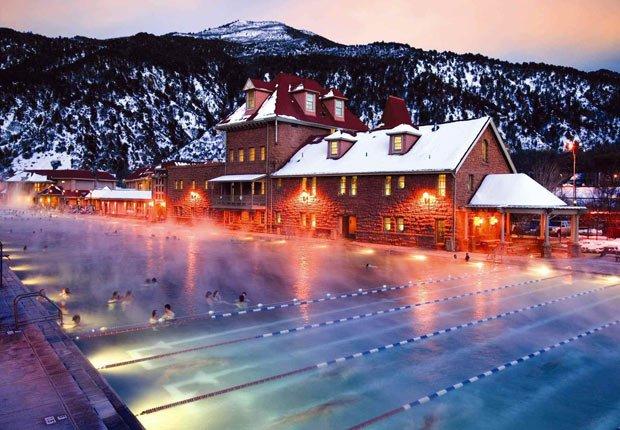 Glenwood Hot Springs, 10 grandes piscinas de hoteles en los Estados Unidos