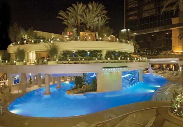 The Tank at The Golden Nugget, 10 grandes piscinas de hoteles en los Estados Unidos