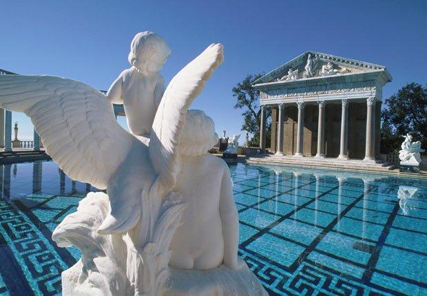 Piscina Neptune at Hearst Castle, 10 grandes piscinas de hoteles en los Estados Unidos
