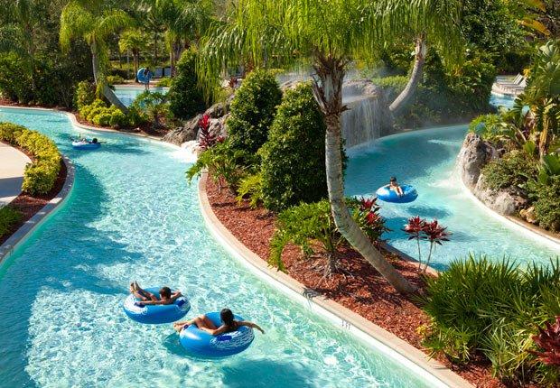 Piscina Hilton Lazy River, 10 grandes piscinas de hoteles en los Estados Unidos
