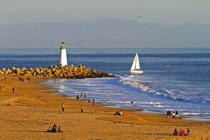 Seabright, CA - 5 playas familiares en Estados Unidos