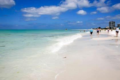 Siesta Key, FL - 5 playas familiares en Estados Unidos