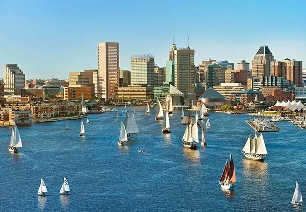 Inner Harbor, Baltimore - 10 viajes económicos para realizar en el 2015