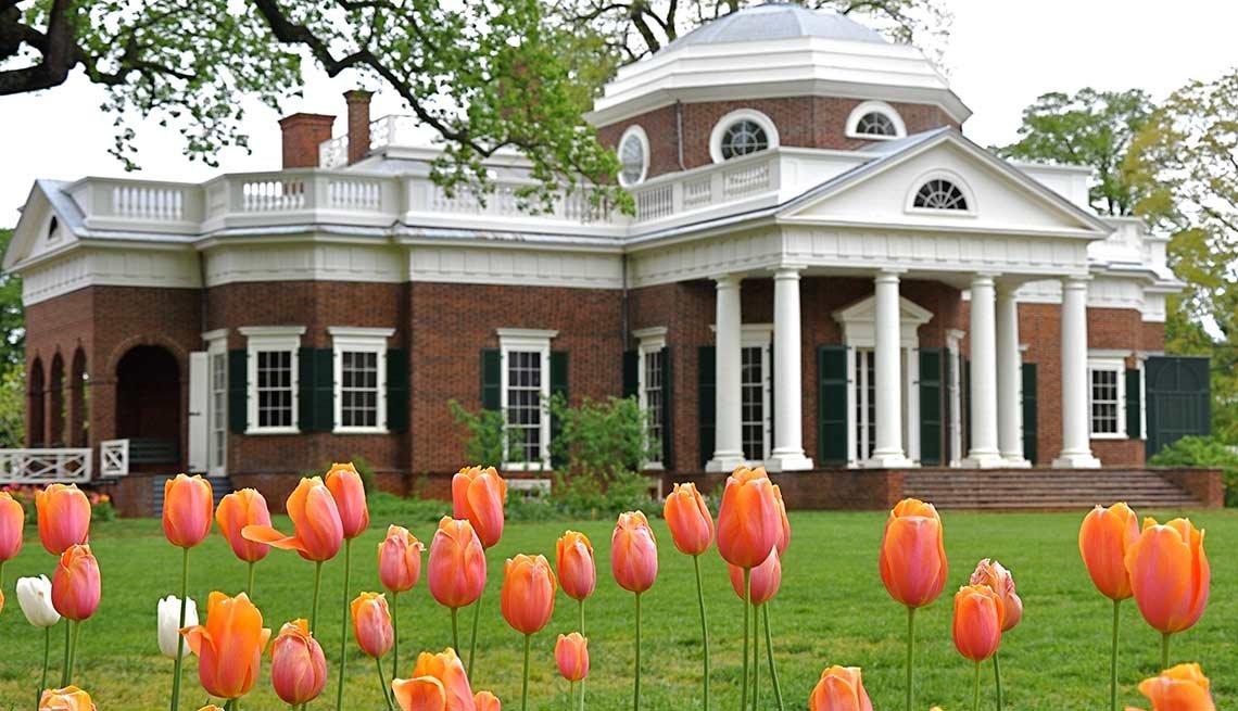 Los jardines más hermosos de Estados Unidos - Monticello