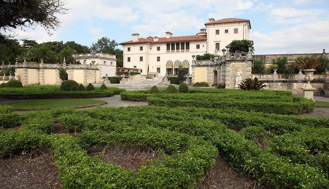 Los jardines más hermosos de Estados Unidos - Museo Vizcaya