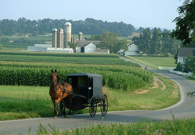 Amish Country - Los barrios más internacionales en Estados Unidos