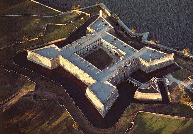 St. Augustine: la ciudad más antigua de EE.UU. - Castillo de San Marcos