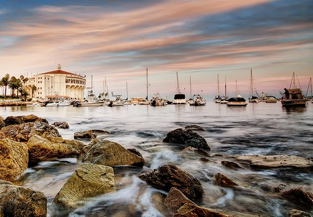 Lugares novedosos en Estados Unidos - Isla Catalina, California