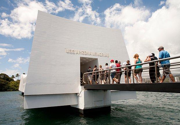 Lugares novedosos en Estados Unidos - Pearl harbor memorial