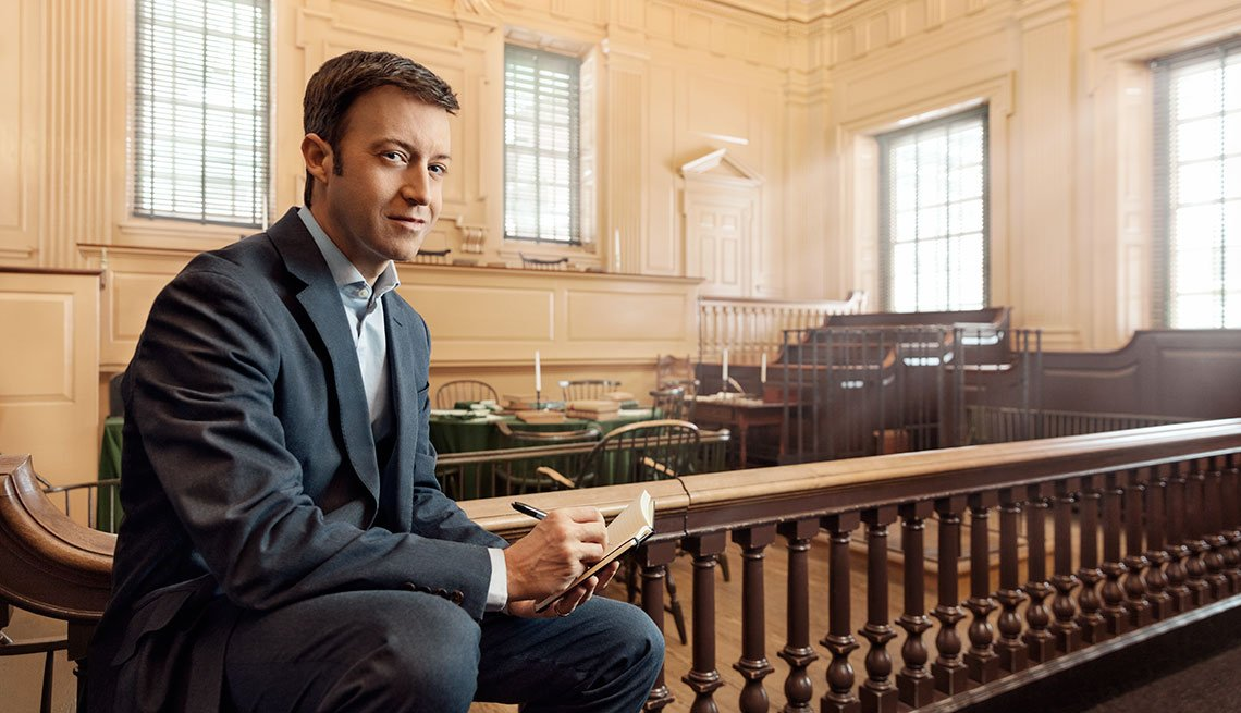 Kermit Roosevelt at Independence Hall in Philadelphia, Pennsylvania, Personal Best, National Park Service