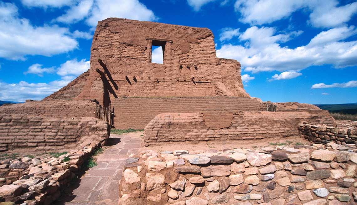 Misión Nuestra Señora de la Porciúncula, Parque Histórico Nacional Pecos