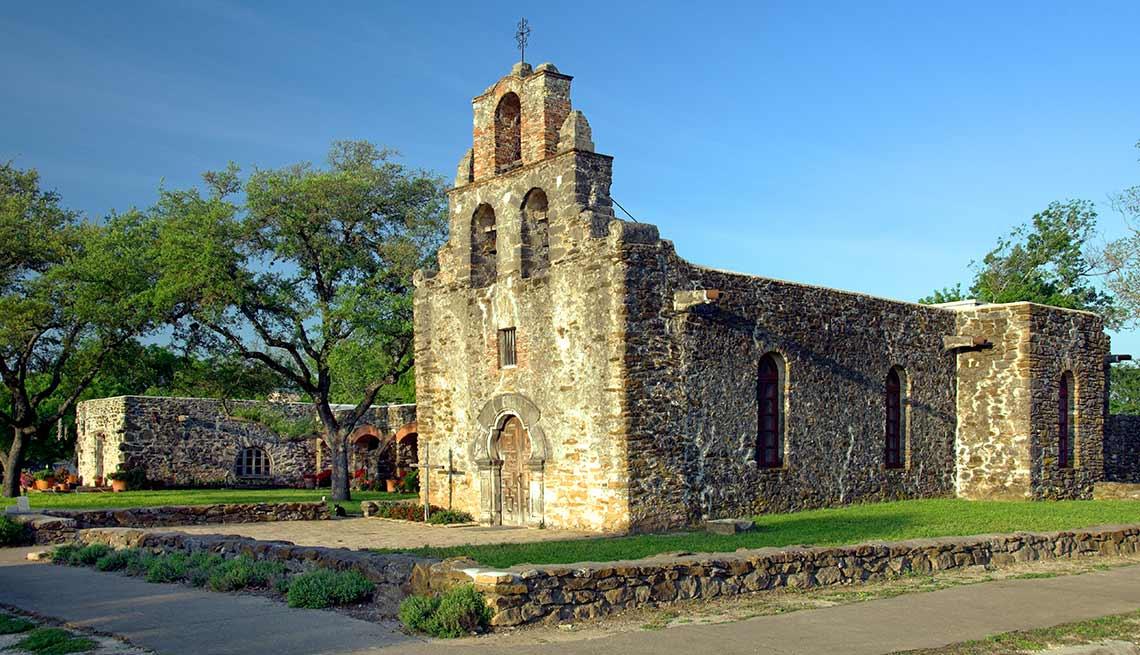 Misión San Francisco de la Espada, San Antonio, Texas