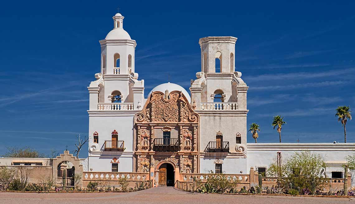 Misión San Xavier del Bac, Tucson, Arizona