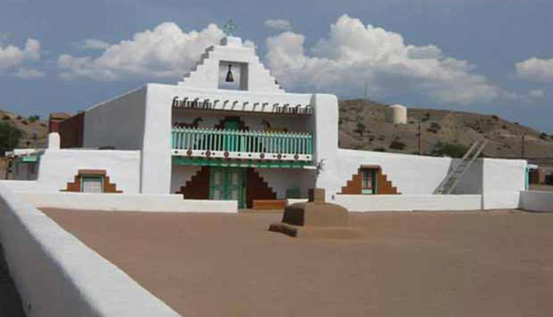 Misión Santo Domingo Kewa Pueble, Nuevo México