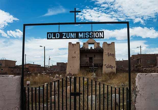 Misión de Nuestra Señora de Guadalupe, Nuevo México - Misiones coloniales de la historia española en Estados Unidos