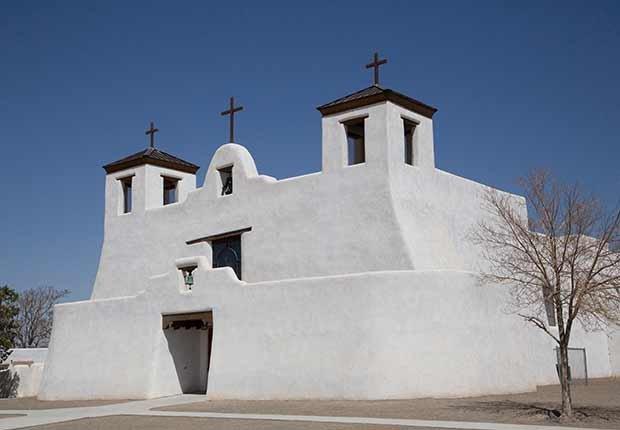 Misión San Agustín de Isleta, Nuevo México - Misiones coloniales de la historia española en Estados Unidos