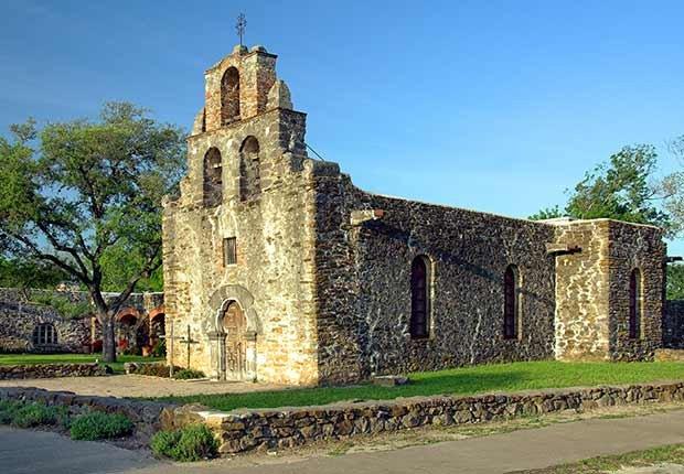 Misión San Francisco de la Espada, San Antonio, Texas - Misiones coloniales de la historia española en Estados Unidos